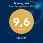 Booking-Guest-review-Awards-2018-Malakiri-bed-and-breakfast-Sperlonga